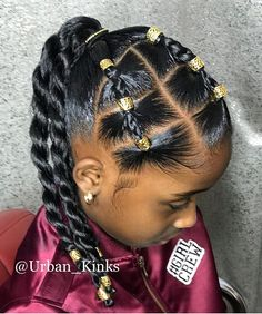 Hairstyles black ✨Urbanista✨ Children's Hair Style The Perfect Protective Style . Tag you. ✨Urbanista✨ Children's Hair Style The Perfect Protective Style . Share/ Repost❗️❗️❗️❗️Support is… Black Kids Hairstyles, Natural Hairstyles For Kids, Kids Braided Hairstyles, Protective Hairstyles, Toddler Hairstyles, Short Hairstyle, Protective Styles, Braided Updo, Little Mixed Girl Hairstyles