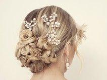 Die 15 Besten Bilder Von Haarschmuck Hochzeit Wedding Hair Styles