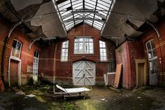 Psychiatric hospital in decay   Flickr - Photo Sharing!