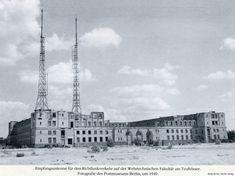 1949 Wehrtechnische Fakultaet am Teufelsee-Empfangsantenne fuer den Richtfunkverkehr 1949