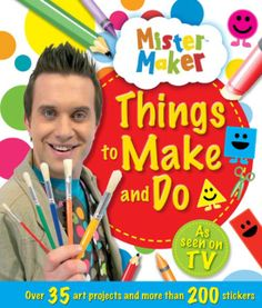 Mums Lounge has ten Mister Maker prize packs to give away. #mistermaker #winning #thingstomakeanddo