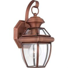 Quoizel Newbury 1 Light Tall Outdoor Wall Sconce with Clear Glass Aged Copper Outdoor Lighting Wall Sconces Outdoor Wall Sconces Outdoor Wall Lantern, Outdoor Wall Sconce, Outdoor Wall Lighting, Exterior Lighting, Outdoor Walls, Lighting Ideas, Ceiling Lighting, Industrial Lighting, Ceiling Fans