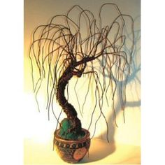 Bonsai Boy's Wire Bonsai Tree Sculpture - Asian Willow 20Hx15Wx15D$495.00: www.amazon.com/Bonsai-Boys-Wire-Tree-Sculpture/dp/B002DZX8K4/?tag=sure9600pneun-20
