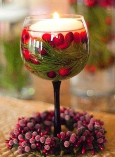 Christmas Table Decorations With Floating Candles.DIY Holiday Floating Candles The Greenspring Home. Cute Christmas Decorating Ideas Inexpensive And Festive . Christmas Candle Decorations, Fall Wedding Decorations, Christmas Candles, Christmas Diy, Table Decorations, Modern Christmas, Scandinavian Christmas, Decor Wedding, Wedding Receptions