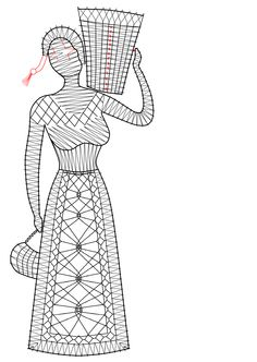 Mujer Bobbin Lace Patterns, Tatting Patterns, Bobbin Lacemaking, Hairpin Lace, Needle Lace, Lace Making, Doodle Art, Hair Pins, Textiles