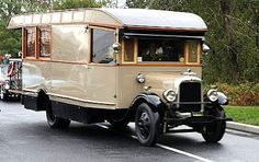 Vintage 1928 Motorhome but it Still Goes Camping
