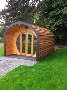 5 Meter Camping Pod, Glamping Pod, Garden office, Shepherds hut, Business space in | eBay