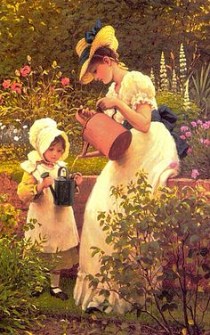 The Young Gardener~ Leslie George Dunlop