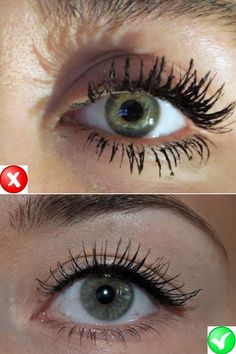 Makeup mistakes - lashes