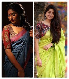 Beautiful Kalamkari blouse designs can add style statement to even a simple saree. Kalamkari Blouse Designs, Simple Sarees, Latest Trends, Sari, Decoration, Beautiful, Style, Fashion, Saree