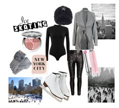 New York City Ice Skating by krisztina-holovcsak on Polyvore featuring H&M, Australia Luxe Collective, Topshop, Christian Dior, women's clothing, women's fashion, women, female, woman and misses