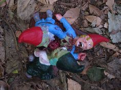 Zombie Gnomes Love a la carte by ChrisandJanesPlace on Etsy, $40.00