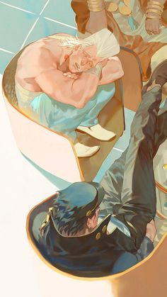 JOJO's Bizarre Adventure artworks by Rei Jojo's Bizarre Adventure, Jojo's Adventure, Blue Exorcist, Jojo Stardust Crusaders, Character Art, Character Design, Inu Yasha, Tamako Love Story, Drawn Art