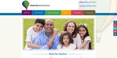 #sesamewebdesign #psds #dental #responsive #contained #topnav #top-nav #sticky #green #blue #orange #pink #purple #brown #sans #contained