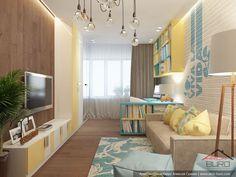 Дизайн-проект интерьеров квартиры в г. Тарко-Сале
