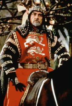 Sean Connery as King Richard the Lionheart in Robin Hood, Prince of Thieves 1991