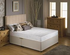 "2ft 6"" Contour Flex Small Single Divan Bed"