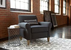 Adam is a blend of classic lines with smart tapered legs and gently flaring arms that offer a handsome welcome.