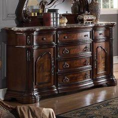 Buy online Waldrep 6 Drawer Combo Dresser by Astoria Grand 5 Piece Bedroom Set, Bedroom Sets, Queen Bedroom, Bedroom Décor, Wood Sleigh Bed, Platform Bed Designs, Dresser With Mirror, Double Dresser, Upholstered Platform Bed