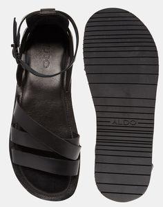 Image 3 ofALDO Amateur Leather Gladiator Sandals