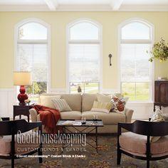 Good Housekeeping™ Sheer Shadings: 2 Room Darkening