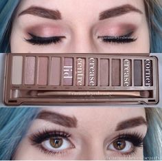 The gorgeous Naked 3 Palette ❤️https://www.urbandecay.com/urban-decay/eye-makeup/naked/245.html that is the link to buy the naked 3 palette. The 5 colours listed are used for your lid, the centre of your eye, your crease, the outer crease and the corner (outer or inner) of your eye. Please comment if you want a 'eye map' where I can show you where shades/palette colours can go :-)