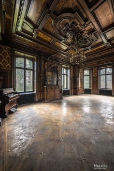 Refugium Pompös So pretty! Abandoned Buildings, Abandoned Mansion For Sale, Old Abandoned Houses, Abandoned Castles, Abandoned Mansions, Old Buildings, Abandoned Places, Old Houses, Haunted Places