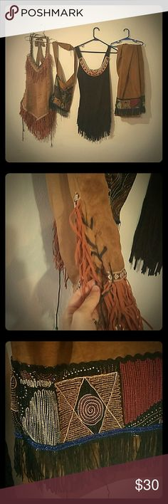 Tribal dresses Comes with two dresses, pants, and bag :) Dresses