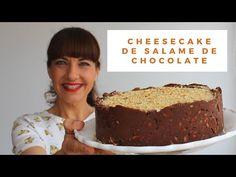 Cheesecake de salame de chocolate - YouTube Cheesecake, Banana Bread, The Creator, Sweets, Desserts, Sweet Recipes, Sour Cream, Decorated Cookies, Wafer Cookies