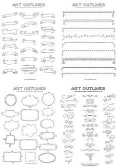Bullet journal series IV | Inspo: decoración