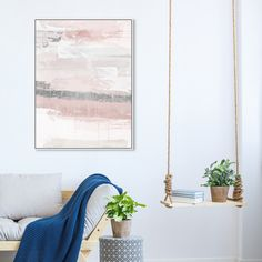 Sophisticated Elements Blush | Abstract Wall Art by Oliver Gal Pink Abstract, Abstract Wall Art, Modern Wall Decor, Pink Walls, Grey Paint, Print Format, Painting Prints, Vivid Colors, Oliver Gal