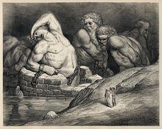 Mitologia - Aloadi, due giganteschi gemelli I gemelli Aloadi non avevano paura di nessuno poiché era stato predetto che non sarebbero mai rimasti uccisi né da uomini né da dei. Oto voleva rapire Era, mentre Efialte voleva per sé Artemide. Ma l #efialte #gemelli #giganti #ifimedea