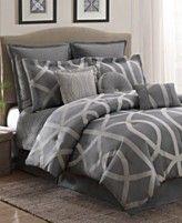 Stanton Lattice 10 Piece Full Comforter Set