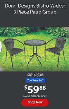 Doral Designs Panama 6 Piece Outdoor Dining Group | ON SALE $99.88 #patio # Furniture #sale | Outdoor Furniture U0026 Grilling | Pinterest | Outdoor Dining
