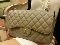 customer review chanel grey 2014 classic flap handmade with original leather | order via email : 2653764383@qq.com wechat : alwaysclassy