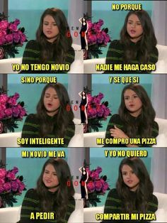 Find images and videos about selena gomez, phrases and pizza on We Heart It - the app to get lost in what you love. Funny Fails, Funny Jokes, Memes Super Graciosos, Funny Images, Funny Pictures, Kid Memes, Grumpy Cat, Laugh Out Loud, Selena Gomez