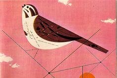 charley harper sparrow