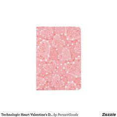 Shop Technologic Heart Valentine's Day Pattern Passport Holder created by ParazitGoodz. Passport Holders, Passport Wallet, Travel Style, Unique Art, Headbands, Valentines Day, Travel Jewelry, Art Prints, Pattern