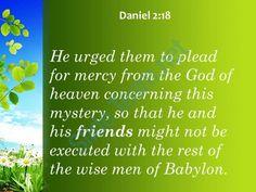 daniel 2 18 he urged them to plead for powerpoint church sermon Slide03  http://www.slideteam.net/