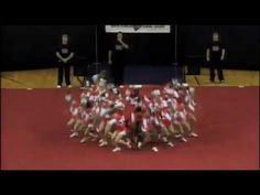 Oh my gosh.  Probably the best highschool cheer competition video I've watched in years.  Awesome energy.  Mauldin High School Cheerleading 11-12 at STATE.