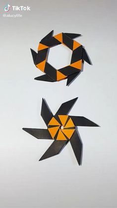 Paper Folding Crafts, Cool Paper Crafts, Paper Mache Crafts, Paper Crafts Origami, Fun Crafts, Instruções Origami, Origami Videos, Origami Elephant, Anime Crafts