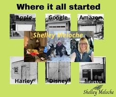"""Shelley Meloche on Instagram: """"Hard to believe that some major corporations had such humble beginings, but they did. They had to start somewhere. The key is they started.…"""" Believe, Key, Digital, Business, Instagram, Unique Key, Store, Business Illustration"""