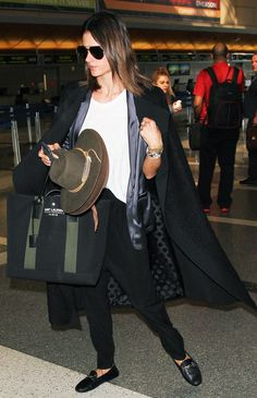 12 Perfect Pairs of Celebrity-Approved Airport Shoes via @WhoWhatWear
