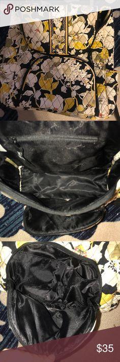 Vera Bradley Backpack perfect backpack for the beach or school. had many pockets. super cute. waterproof inside Vera Bradley Bags Backpacks