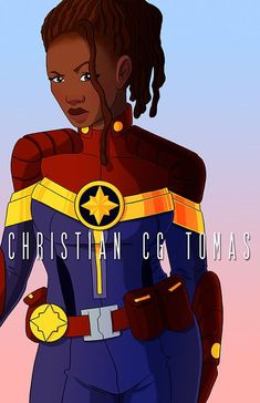 Monica Rambeau as Captain Marvel Costume design by KidNotorious Black Characters, Cosplay Characters, Story Characters, Costumes Marvel, Captain Marvel Costume, Marvel Art, Marvel Comics, Female Superheroes And Villains, Wolf Children