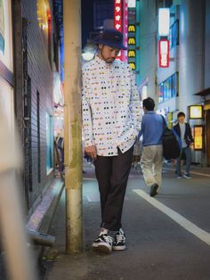 Shibuya Street Shoot with DREAMPV$HER in the Medicated Shirt