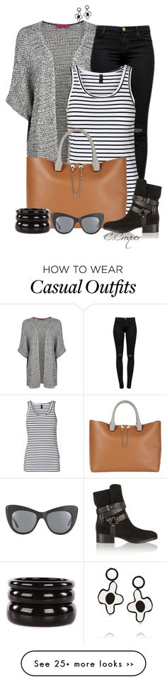 """""""Casual Afternoon"""" by ccroquer on Polyvore"""
