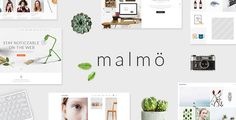 Malmö - A Charming Multi-concept Theme by Elated-Themes. Price $59
