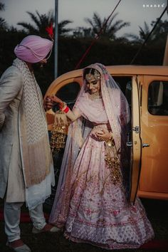Picture from Chanu & Digvijay Photo Gallery on WedMeGood. Browse more such photos & get inspiration for your wedding Indian Wedding Couple, Indian Bride And Groom, Indian Wedding Planning, Sikh Wedding, Punjabi Wedding, Farm Wedding, Wedding Couples, Boho Wedding, Wedding Reception