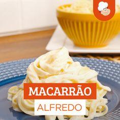 Fettucine Alfredo, Vegetarian Crockpot Recipes, Easy Healthy Recipes, Cooking Recipes, Food Vids, Confort Food, Food Porn, Salty Foods, Vegetarian Recipes